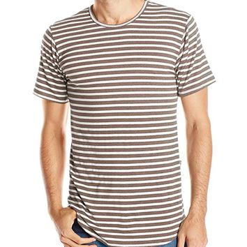Rustic Dime Men's Striped Long T-Shirt