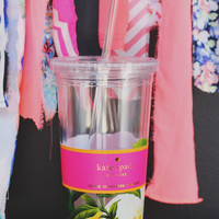 Kate Spade Floral Insulated Tumbler
