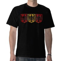 German Eagle Crest t shirt from Zazzle.com
