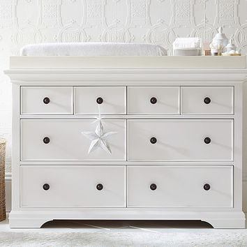 Larkin Extra Wide Dresser & Topper Set
