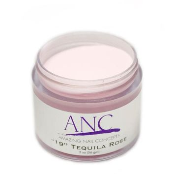 ANC 19 Dip Powder Amazing Nail Concepts 2 oz #19 Tequila Rose