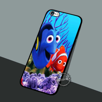 Baby Dory Coral Background - iPhone 7 6 5 SE Cases & Covers