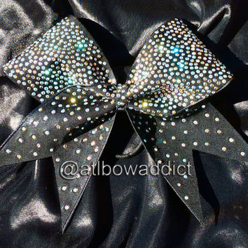 Cheer Bow with Rhinestones - The Nicole Bow
