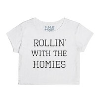 Rollin With The Homies-Unisex Snow T-Shirt