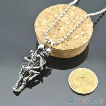 Skull Love Stainless Steel - Necklace
