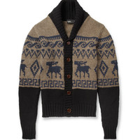 Kolor - Fair Isle Wool Cardigan | MR PORTER