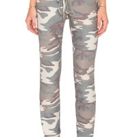Michael Lauren Don Lounge Pant in Camo