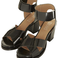 NOTION Cross Over Mid Sandals - Topshop USA