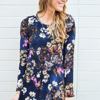 Forget Me Not Flower Dress