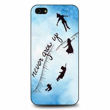 Peter Pan Never Grow Up 2 iPhone 5/5s/SE Case