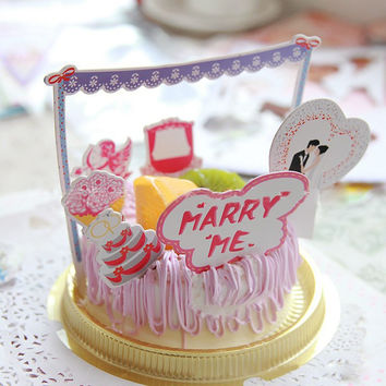 Cake Decoration Supplies Wedding Cake Topper