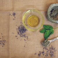 Homemade Lavender Mint Foot Scrub - Free People Blog