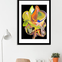 «Melting on black», Limited Edition Fine Art Print by Sagacious Design - From $29 - Curioos