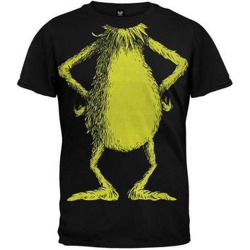 PEAPGQ9 Dr. Seuss - No Head Grinch Costume T-Shirt