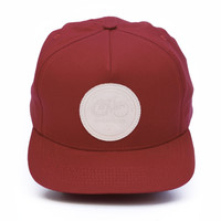 CHARI & CO NYC - BIG PATCH SNAP BACK RED