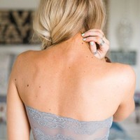 Lace Strapless Bandeaus