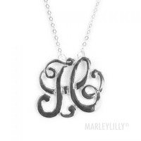 Initial Necklace | Marleylilly