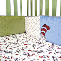Trend Lab - Dr. Seuss Cat In The Hat - Crib Bumpers