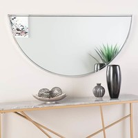 "Holly & Martin Wyndowlyn Arched Mirror 48"", High Gloss Black 