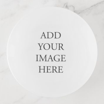 Customizable Trinket Tray - Add your own Photo