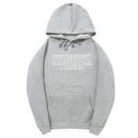 Stranger Things Gray Hoodie