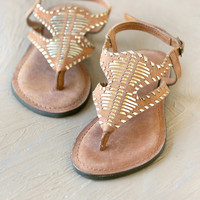 Accona Leather Sandal