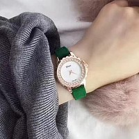 DIOR Women Fashion Diamonds Quartz Movement Watch
