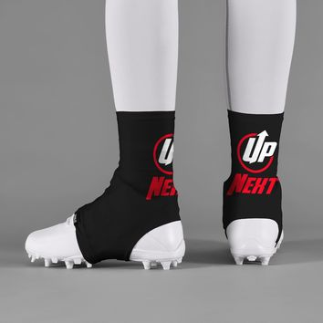 Up Next Black Spats / Cleat Covers