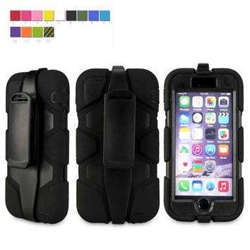 """cell phone case for iphone 6 4.7"""" silicone + pc protective shell cover"""