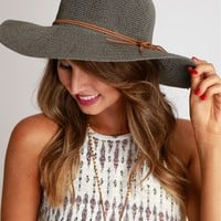 Beach Bum Wide Brimmed Hat Olive