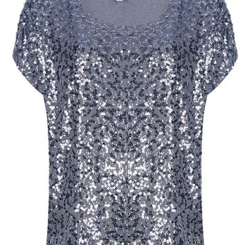Michael Michael Kors Sequin Embellished Top