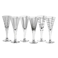 Mikasa Cheers 6-pc. Cordial Glass Set (Multicolor)