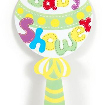 Baby Shower Yellow Yard Sign Case Pack 36