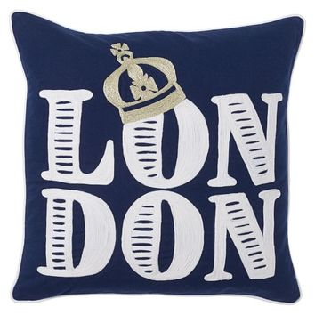 Jet Setter Destination Pillow Cover