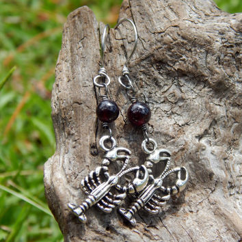 Crawfish earrings, show your passion for crawdads with these unique earrings Cajun jewelry, Louisiana earrings cajun cooking, crawfish boil,