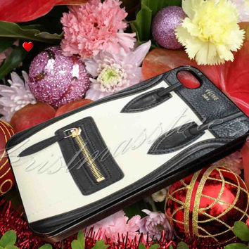 Celine Luggage Black Beige - for iPhone 4/4s, iPhone 5/5s/5c, Samsung S3 i9300, Samsung S4 i9500 Hard Case