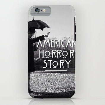 American Horror Story Coven Cordelia Foxx iPhone & iPod Case by IrasHorrorStory