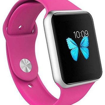 Apple Watch Band -  Soft Silicone Replacement iWatch Strap