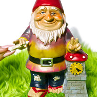 Big Mouth Toys WHATZUP The Garden Gnome Dude Multi One