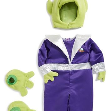 Infant InCharacter Costumes 'Mini Martian' Romper, Hood and Booties,