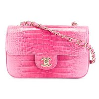 Chanel Vintage Embossed Flap Crossbody Bag - Rewind Vintage Affairs - Farfetch.com