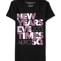 Aeropostale  Times Square New Year's Eve Bling Graphic T