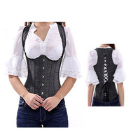 Corset Waist Trainer Bustiers Sexy Lingerie Steampunk Waist slimming Corset Burlesque Slimming Body Shapewear TYQ