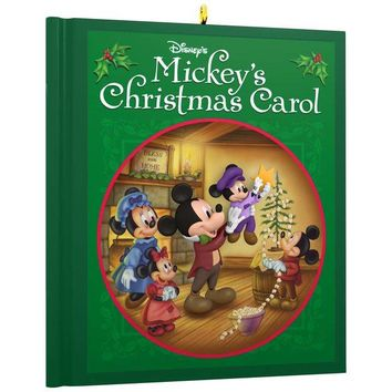 Disney Mickey Mouse Mickey's Christmas Carol Ornament