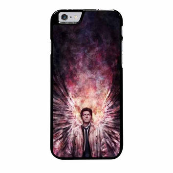 supernatural castiel galaxy iphone 6 plus 6s plus 4 4s 5 5s 5c 6 6s cases