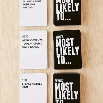Whos Most Likely To Game - Urban Outfitters