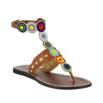 MIA Shoes Beaded Sandals | Athena