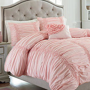 MaryJane's Home Cotton Clouds Pink Bedding Collection - Belk.com