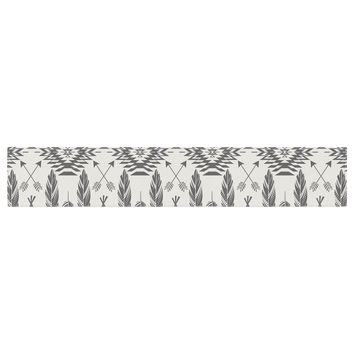 "Amanda Lane ""Native Roots"" Brown Gray Table Runner"