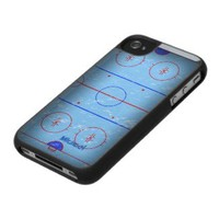 Hockey Ice Rink iPod Touch  Case iPod Case-Mate Cases from Zazzle.com